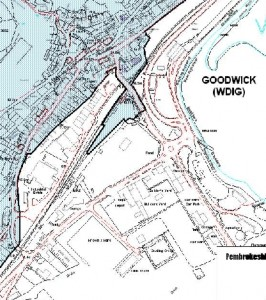 plan of Goodwick Conservation Area