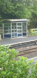 Platform 2 shelter at Clarbeston Road