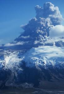 Iceland volcano Eyjafjallajökull erupts 17 April 2010