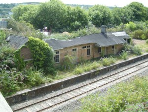 derelict station in July 2011