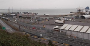 general view of Rosslare Europort