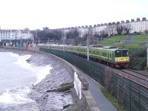 DART Dublin suburban train