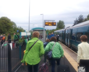 passengers arriving at Fishguard and Goodwick