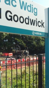 works to extend car park at Fishguard and Goodwick station