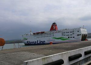 Stena Europe sail from Fishguard