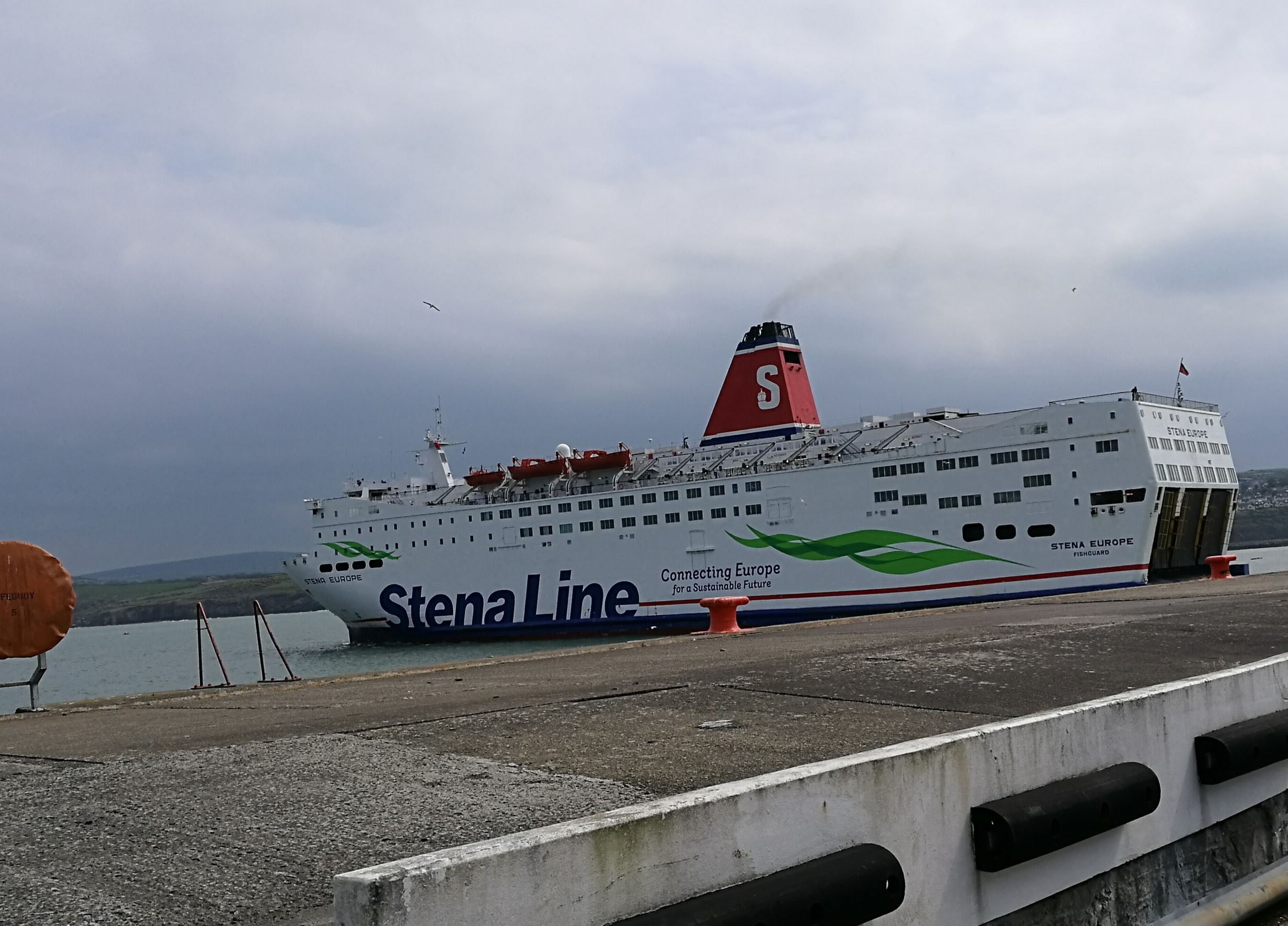 Stena Europe sail from Fishguard